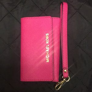 MK iPhone 5s phone case/wallet